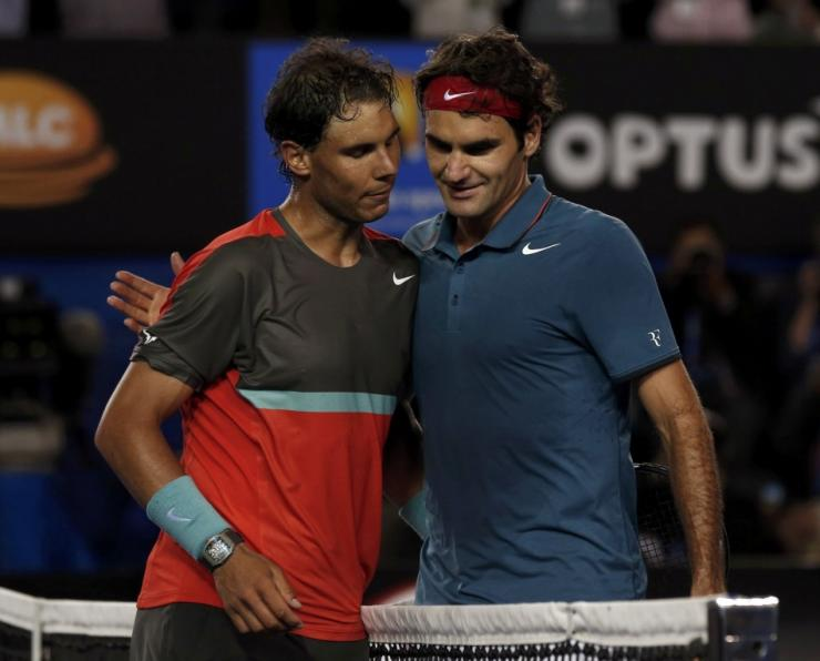 Heated Rivalry Roger Federer Denies Close Friendship With Rafael Nadal