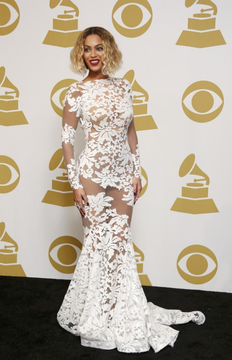 Beyonce Grammy Dress 2015