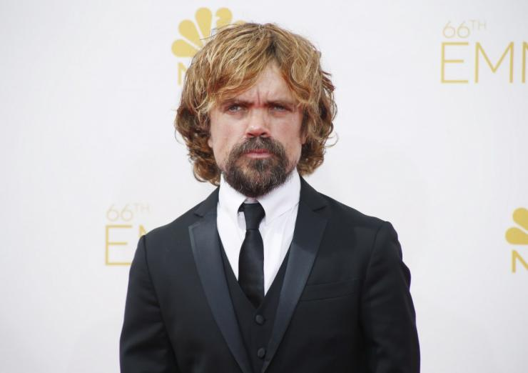 "Actor Peter Dinklage from the HBO series ""Game of Thrones"""