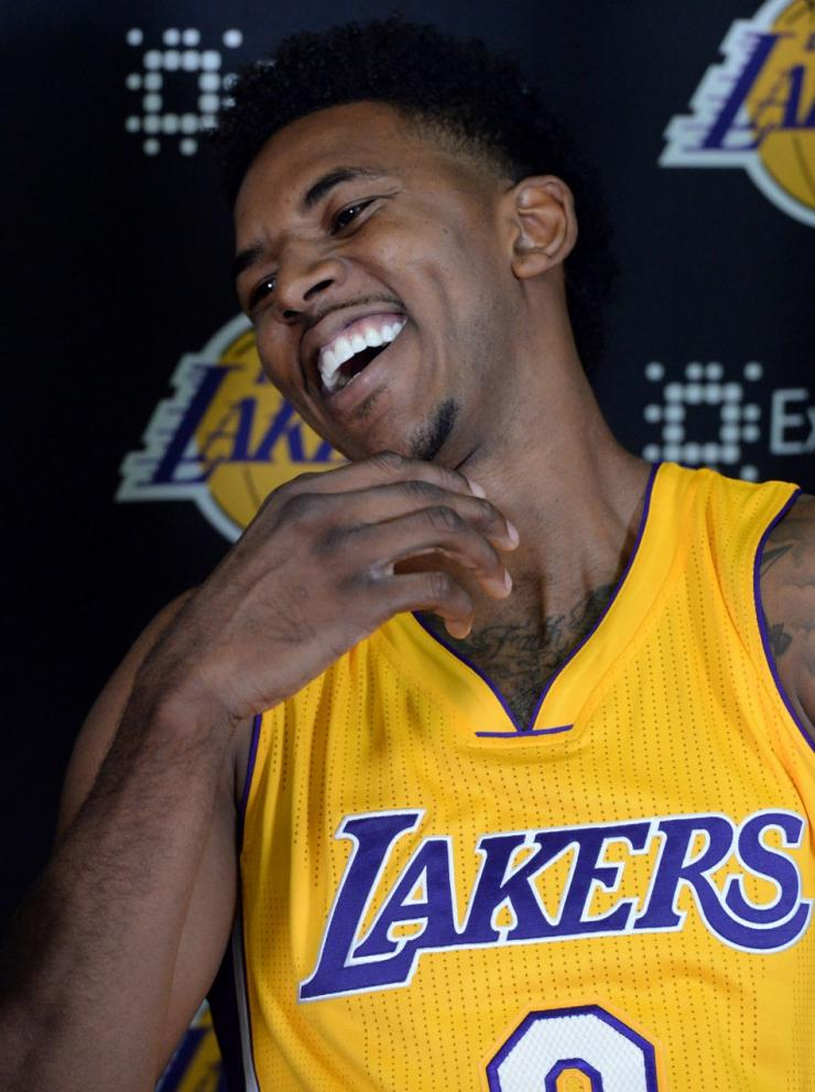 Los Angeles Lakers forward Nick Young