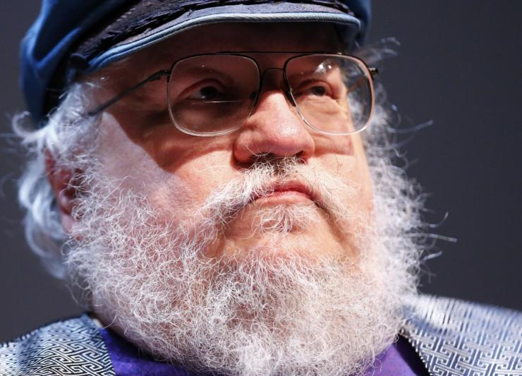 "George R.R. Martin, author of the ""Song of Ice and Fire"" fantasy series"