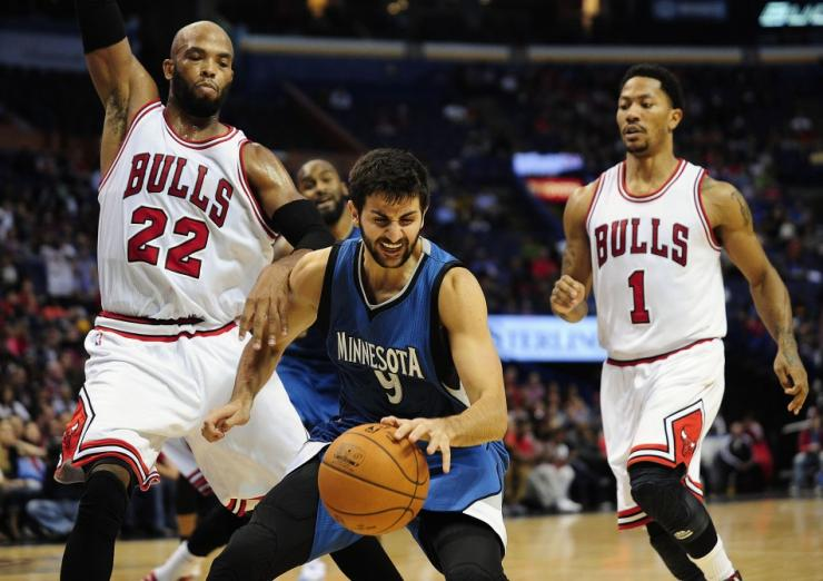 eb08819b2277 NBA News  Ricky Rubio Targets Middle of January 2015 Return