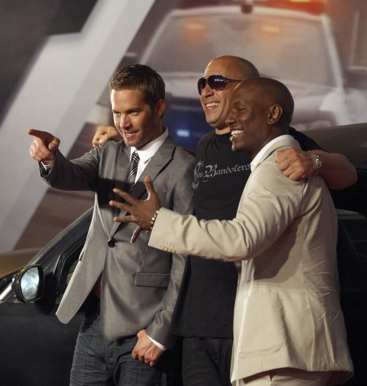 Other vin diesel and tyrese gibson agree, this