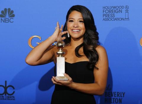Gina Rodriguez is Jane in The CW's 'Jane the Virgin'