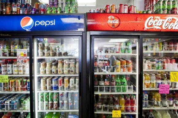 Sugary Drinks for Sale