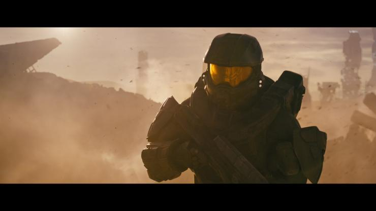 New gameplay trailer for 'Halo 5: Guardians' surfaces, fan