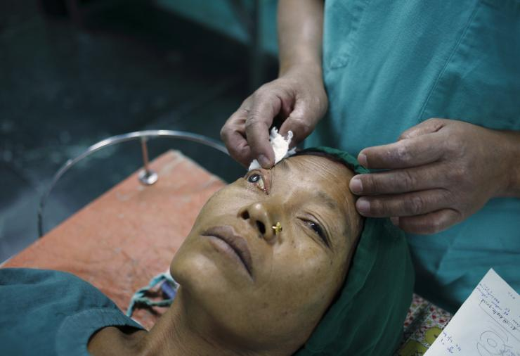 Cataract Surgery At Tilganga Hospital In Nepal