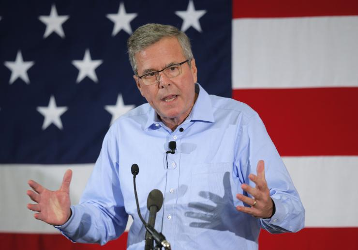 Former Florida Governor and probably 2016 Republican presidential candidate Jeb Bush