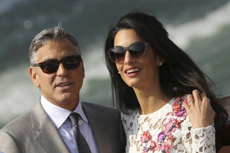 George Clooney Does Not Email His Wife Amal Clooney As He