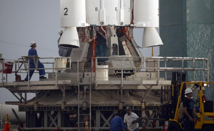 NASA'S Orbiting Carbon Observatory-2 Launch Pad