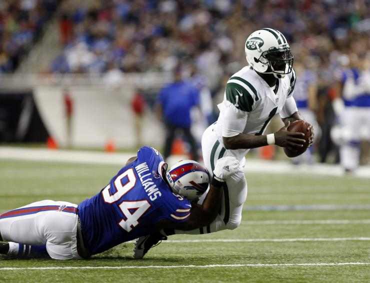New York Jets quarterback Michael Vick