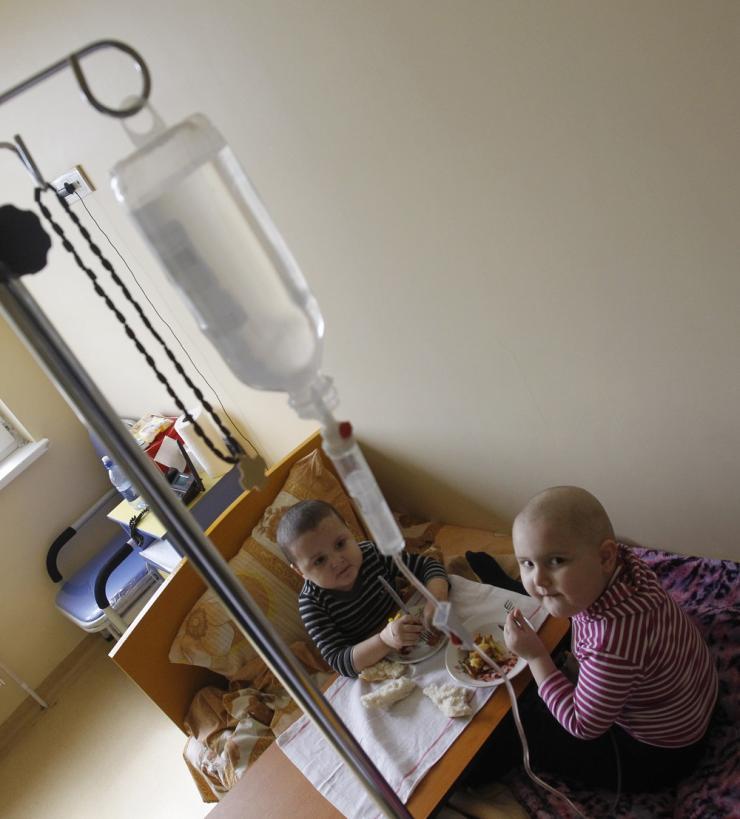Young Leukemia Patients