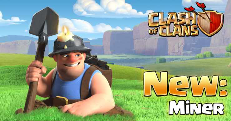 Clash of Clans' new update brings Miner, Baby Dragon and new