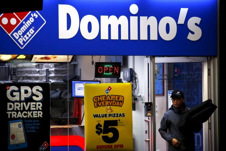 dominos pay rates for drivers