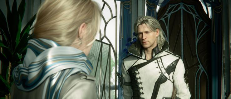 Final Fantasy Xv News Kingsglaive Sneak Peek Shows Luna S