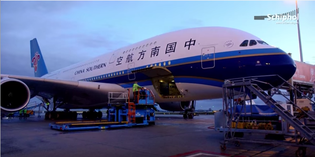 China Southern Airlines Guangzhou Adelaide