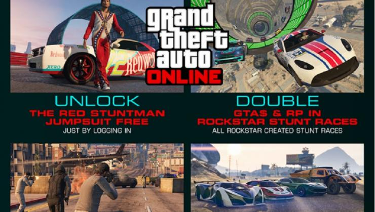 GTA Online Stunts & Entourage Bonuses Event Week last call