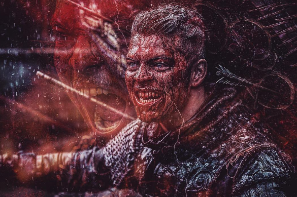 Ivar the Boneless (Alex Høgh Ansersen) - Vikings season 5