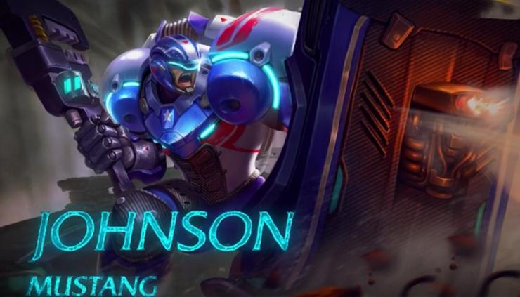 mobile legends johnson mustang skill and build guide for the upcoming tank hero mobile legends johnson mustang skill