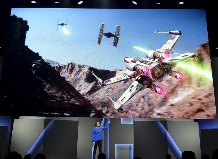"""Star Wars Battlefront"" Electronic Arts media briefing"