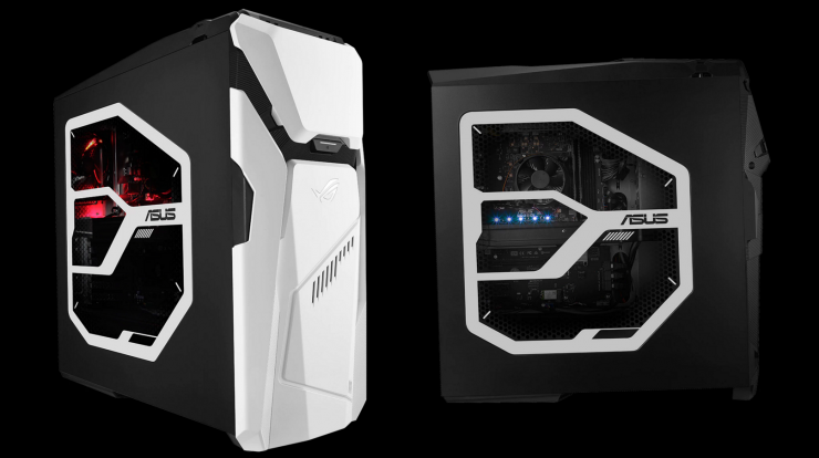 Asus Rog Strix Gd30 Gaming Pc Launches New Desktop Is Customisable