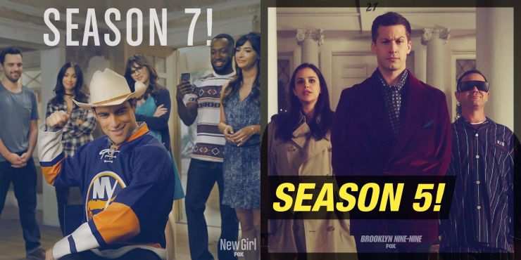 'New Girl' season 7 & 'Brooklyn Nine-Nine' season 5