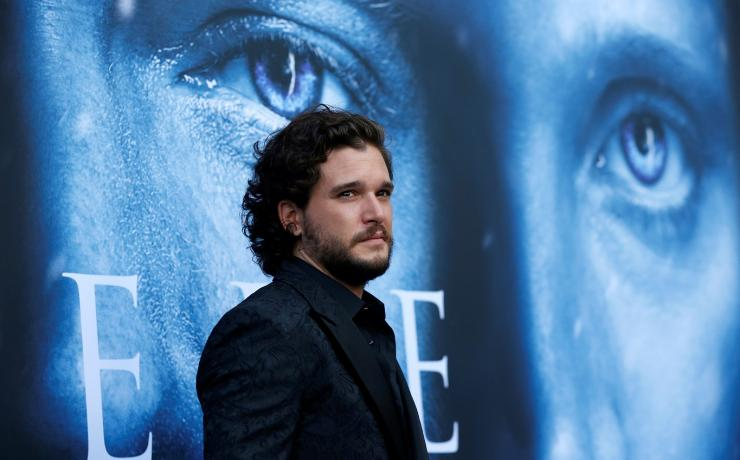 "Cast member Kit Harington poses at a premiere for season 7 of the television series ""Game of Thrones"" in Los Angeles, California, U.S., July 12, 2017."