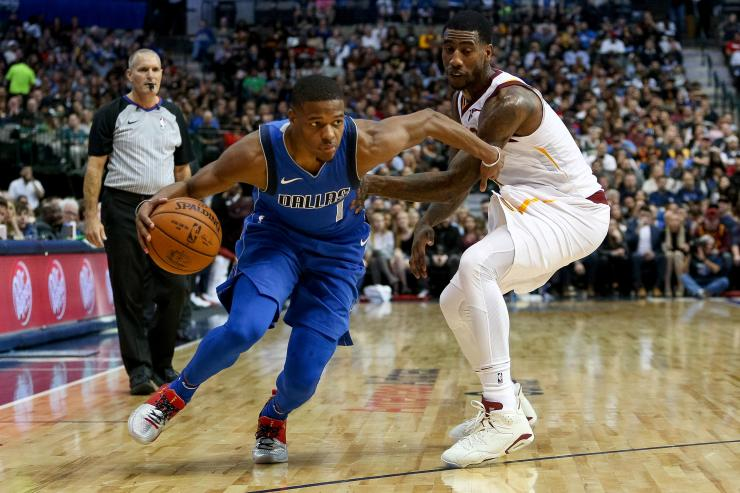 fccd7256385 LeBron James to Knicks   You should have drafted Dennis Smith Jr.