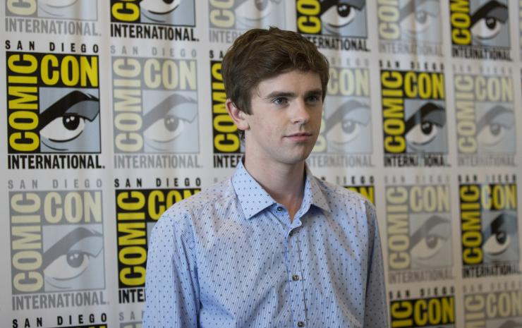 The Good Doctor star Freddie Highmore RTR4064Y