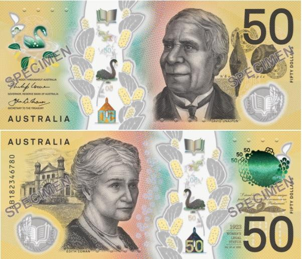 The new Australian $50 banknote