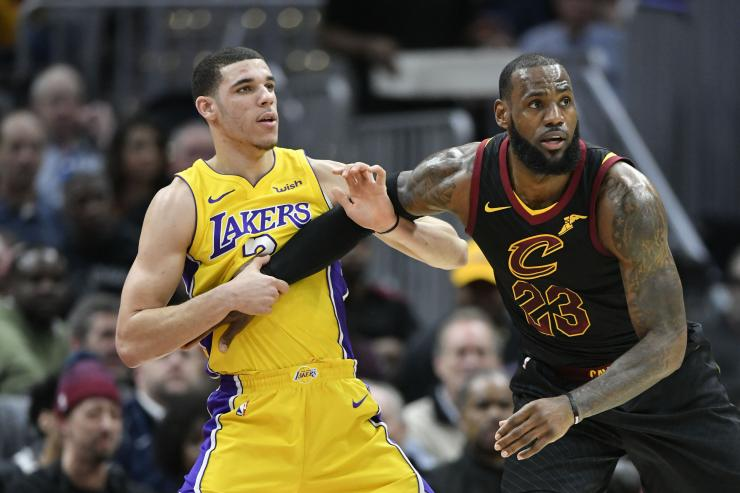 LeBron James, Lonzo Ball, Los Angeles Lakers