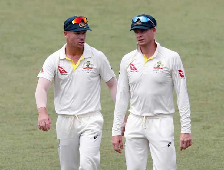 Australia's tour of South Africa, Steve Smith, David Warner