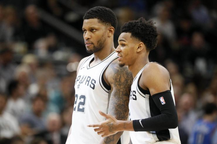 San Antonio Spurs, Rudy Gay, Dejounte Murray