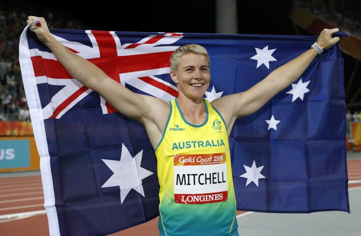 Kathryn Mitchell, 2018 Commonwealth Games
