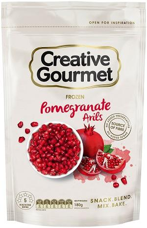 180g Creative Gourmet frozen pomegranate arils from Coles