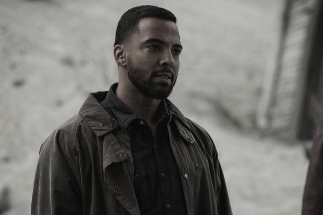 "Christian Keyes as Apocalypse World Michael in ""Supernatural"