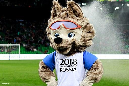 Wolf Zabivaka™ is the official mascot of this year's world cup.