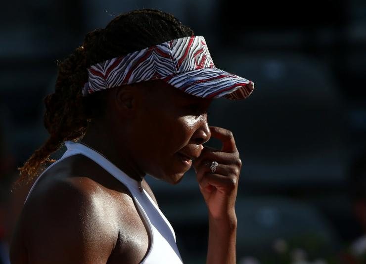 Tennis - WTA Premier 5 - Italian Open - Foro Italico, Rome, Italy - May 16, 2018   Venus William