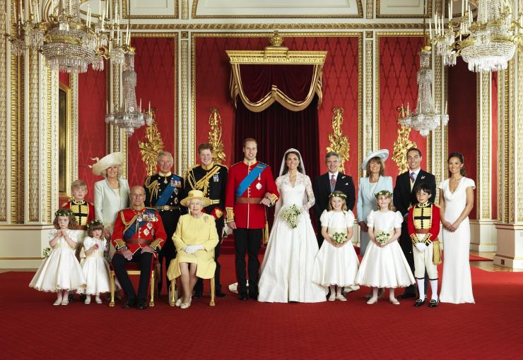Prince William, Kate Middleton official wedding
