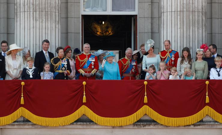 Trooping the Colour queen elizabeth royal family