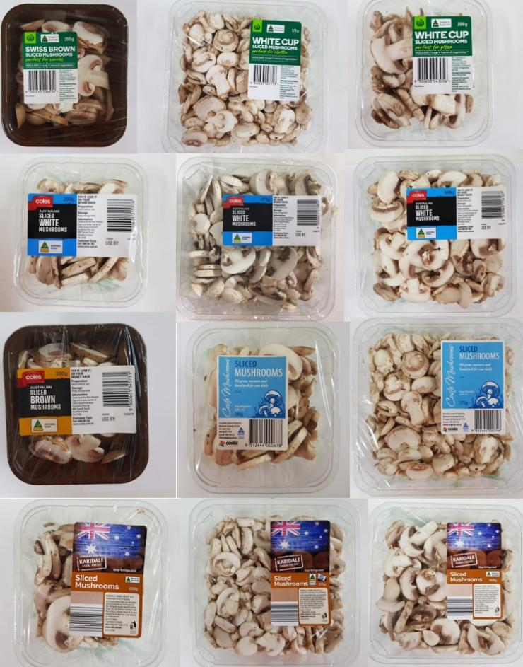 Costa Mushrooms Exchange issued recall after finding chunks of plastic in some of its packed mushrooms.