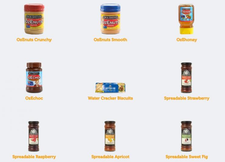 Dick Smith Foods products
