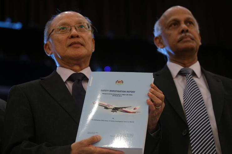 MH370 safety investigator-in-charge Kok Soo Chon
