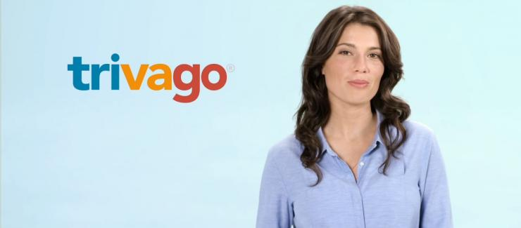 Screenshot from Trivago's TV ad