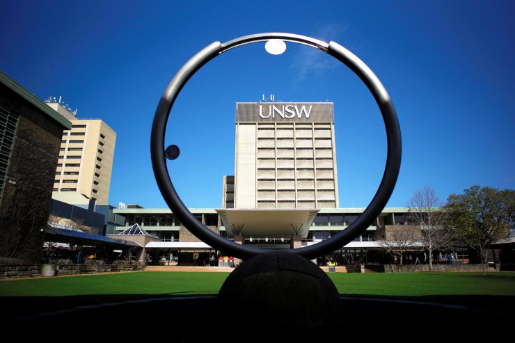 The campus of the University of New South Wales in Sydney, Australia, August 4, 2016.