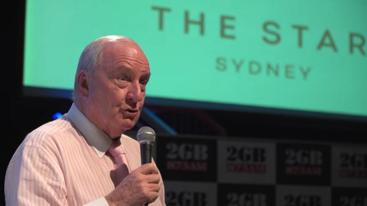 Alan Jones was ordered to pay $3.7 million after he was found guilty of defamation on Sep. 12, 2018.