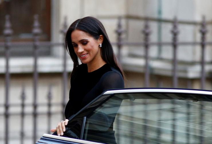 Britain's Meghan, the Duchess of Sussex