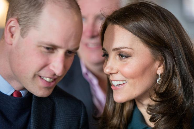 Britain's Prince William and Catherine Duchess of Cambridge