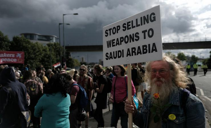 Saudi arabia weapons sales