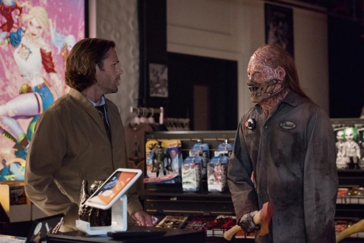"Supernatural"" 14x04 ""Mint Condition"": Sam Winchester with David Yaeger"